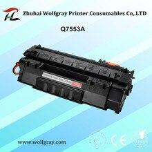 תואם Q7553A מחסנית טונר עבור HP LaserJet P2014/P2015/P2015D/P2015N/M2727