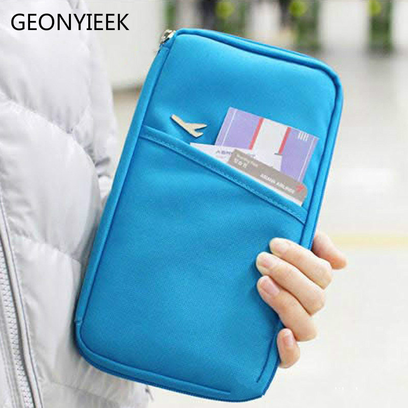 Travel Passport Cover Wallet Travelus Multifunction Credit Card Package ID Holder Storage Organizer Clutch Money Bag neck hanging travel accessory passport cover wallet credit id card holder air tickets package case unisex storage organizer bag