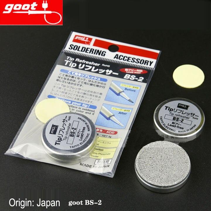 japan goot brand bs 2 resurrection cream regeneration abrasive of soldering tip nw 9g rohs tip. Black Bedroom Furniture Sets. Home Design Ideas