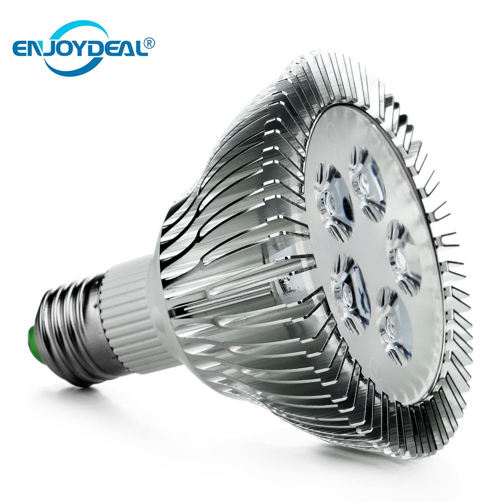<font><b>PAR30</b></font> <font><b>E27</b></font> 5W Red+Blue LED Plant Grow Light Spotlight Lamp Hydroponic Bulb for Plant Flower Vegetable Growing Indoor Greenhouse image