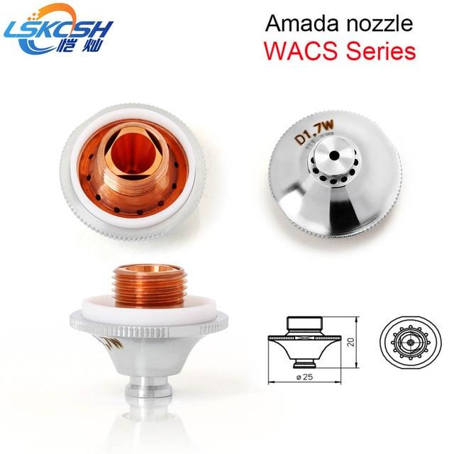 LSKCSH 20pcs/lot High Quality Amada Fiber Laser Nozzle
