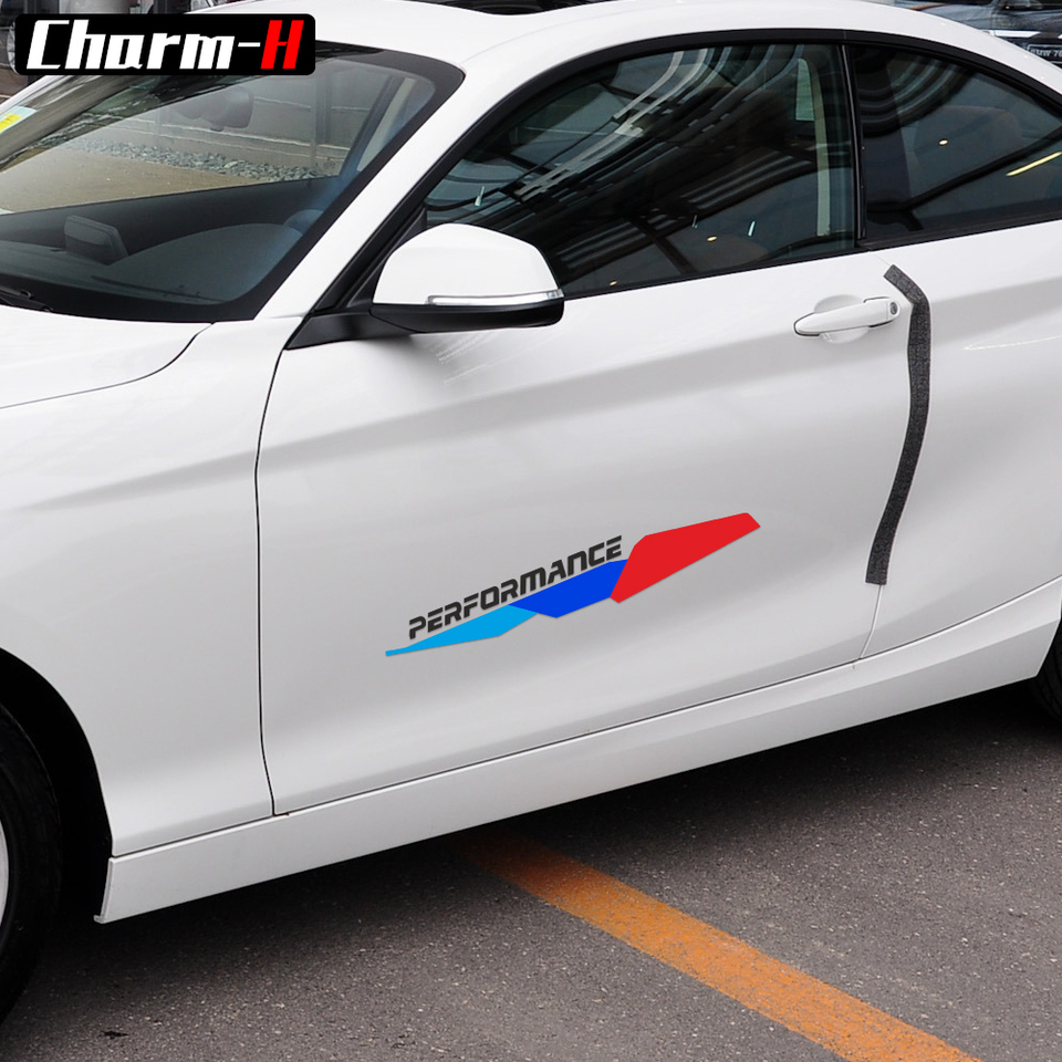 2 pegatinas de colores para BMW M para 1 M Performance Au?enkosmetik adecuado f 1 r BMW 1//2//3//4//5//7 Serie M Logo adhesivo accesorio?r 17,2 x 24 cm AOSTA