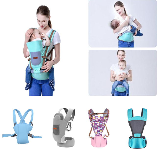 Baby Carrier Baby Kangaroo Bag Breathable Front Facing Baby Carrier 4 in 1 Functional Infant backpack Pouch Wrap baby Sling