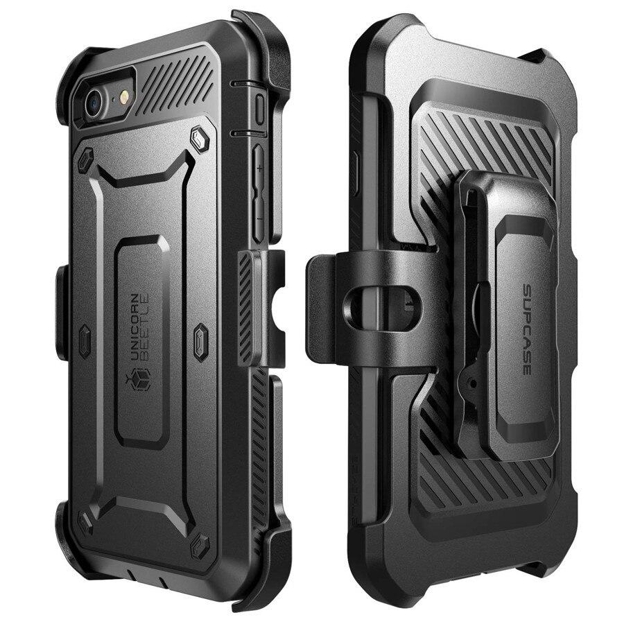 """imágenes para Heavy Duty Armor Caso Híbrido para Apple iPhone 7 con el Clip Cover + Screen Protector Fundas Coque de la Marca Original para iPhone 7 4.7"""""""