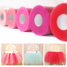 Blue Tutu Pink Sheer Organza Fabric wedding decoration Matt TULLE Roll Spool 15cm 100 Yards table cloth rolls 6inch 100yd White