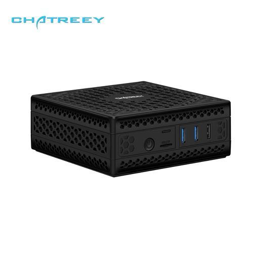 Chatreey AC1-Z Fanless mini pc embedded Intel celeron j3455 j4105 quad core dual display HDMI windows 10 linux  HTPC computer Lahore