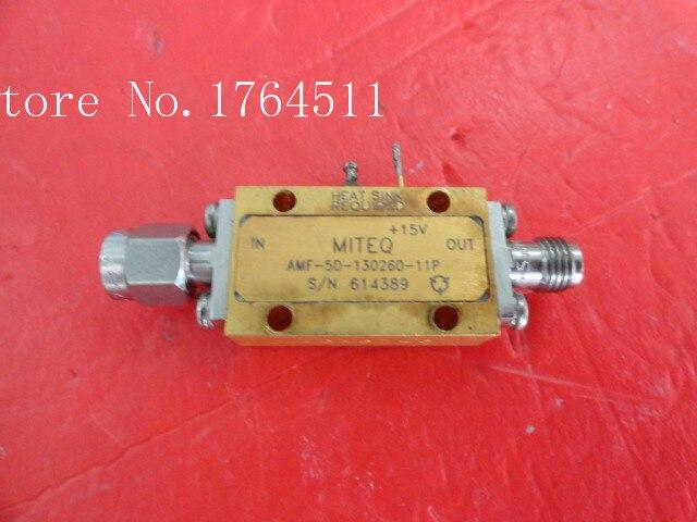 [BELLA] MITEQ AMF-5D-130260-11P 13-26GHZ 15V SMA Supply Amplifier