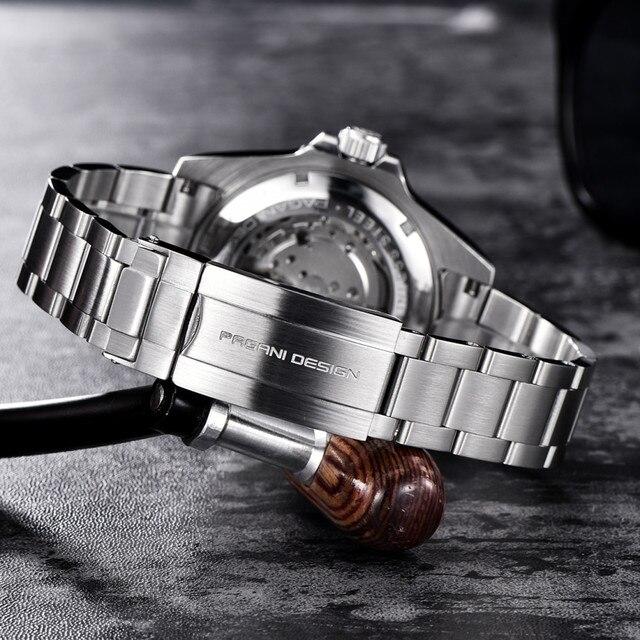 2020 pagani design brand automatic mechanical men watch sports 100m waterproof sport male sapphire wrist watch relogio masculino