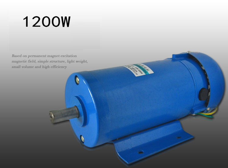 DC220V 1200w 1800RPM high power dc motor and reversing speed regulating motor mechanical power electric tool accessories dc220v 200w 1800rpm high speed permanent magnet motor reversing variable speed mechanical equipment powered diy accessories