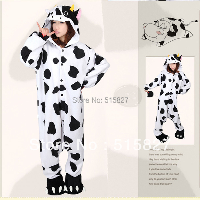 new arrival animae animal milk cow cosplay clothes animal wholesale pajamas halloween costumes for women - Halloween Costume Cow