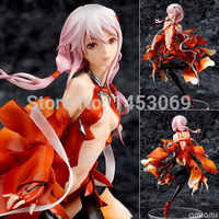 Japanese Anime Guilty Crown Inori Yuzuriha 1/8 Scale Painted PVC Figure dolls 17cm KT3631