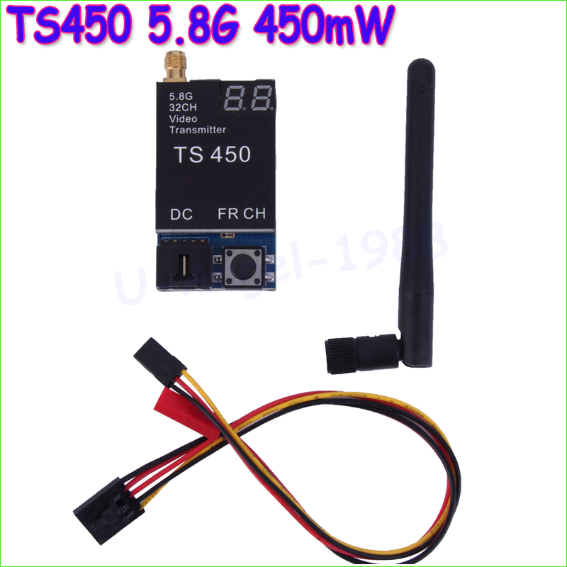 ФОТО Wholesale 1pcs TS450 5.8G 450mW 32 Channels Wireless Video Transmitter Module for FPV Dropship