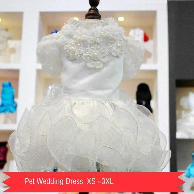 petalk gato perro vestido de boda para mascotas de lujo princesa