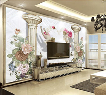 beibehang Custom wallpaper papel de parede European decorative painting background wall 3d wall papers home decor papier peint beibehang custom personalized cute bicycle elephant hamster cloud children background wall paper papel de parede papier peint