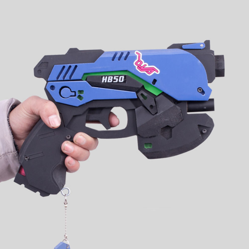 Halloween Game Overwatch Ow Dva D.va Headset Gun Pistol Earphone Game Cosplay Props Costume Gifts High Quality Costume Props