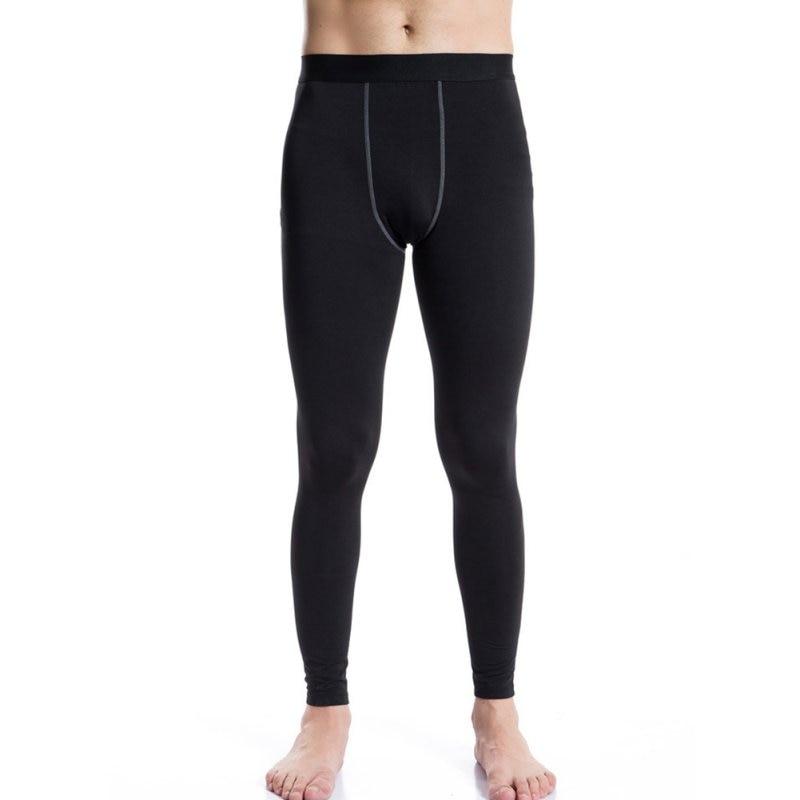 Men Warm Long Johns Pants Thermal Base layer Thick Underwear Winter Navy