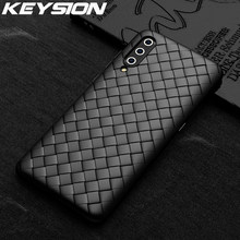 KEYSION Grid Weaving Case For Xiaomi Mi 9T Pro 9 SE A2 F1 Soft TPU Silicone Radiating Phone Back Cover for Redmi K20 Pro Note 7S(China)
