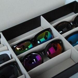 Image 5 - HUNYOO 12 ตารางแว่นตากันแดดจัดเก็บกล่องแว่นตาผู้ถือขาตั้งแว่นตากล่องแว่นตากันแดด