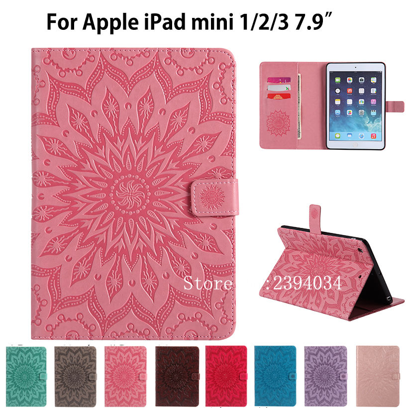 Fashion Tablet Case For Apple iPad mini 3 mini 2 mini Cover High quality Silicone PU Leather Flip Stand Cases Funda Skin Shell protective abs silicone bumper case for ipad mini retina ipad mini purple transparent