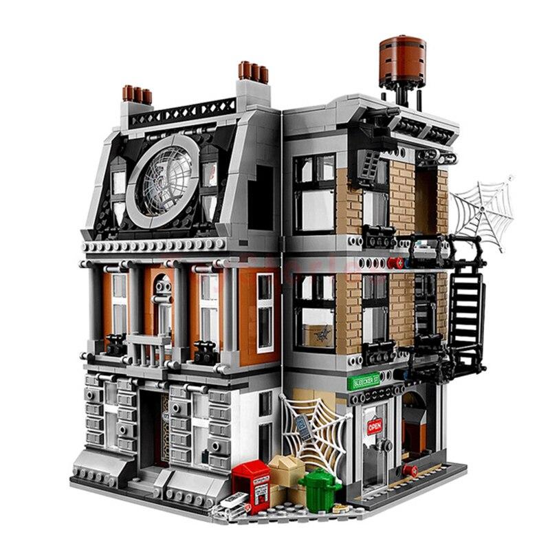1125 pièces 07107 Super héros Sanctum Sanctorum Showdown blocs de construction assembler ensemble Compatible Legoing 76108 briques jouets - 3