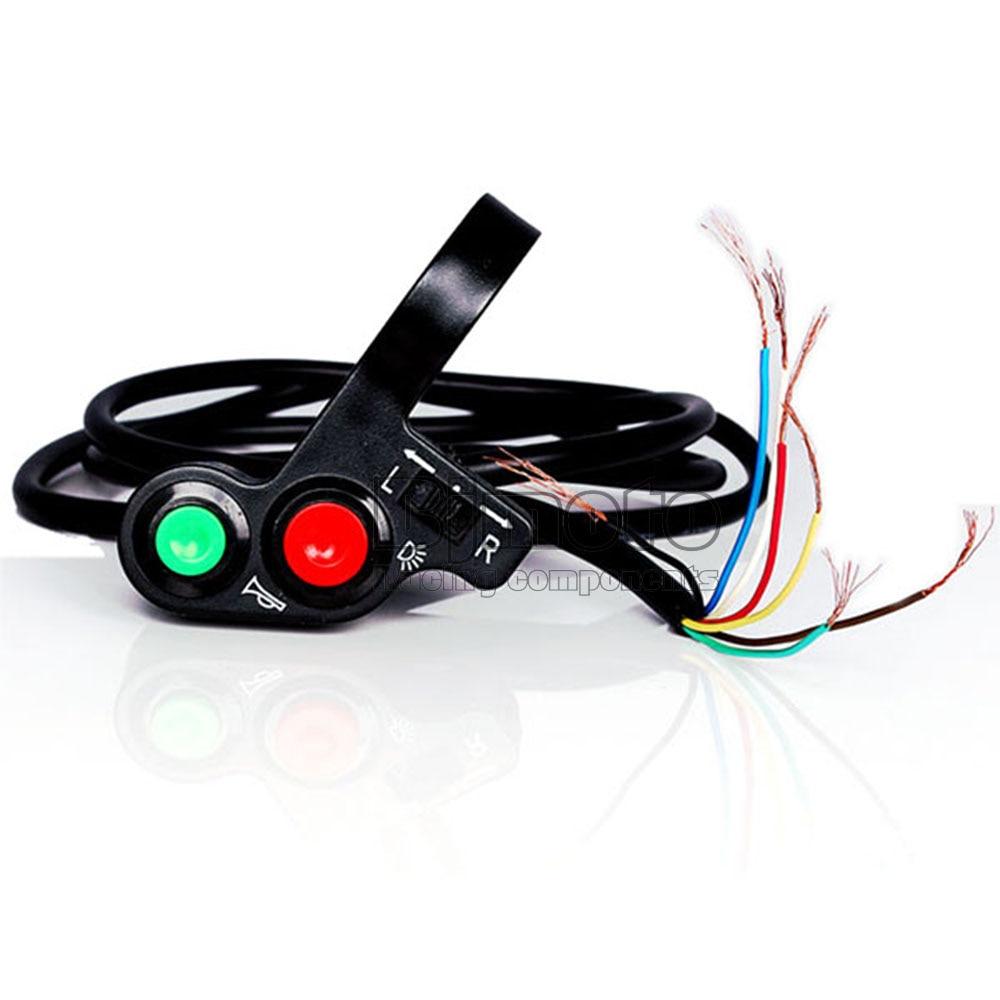 """Light Controller For Motorcycles: New 12V DC 7/8"""" Motorcycle Handlebar Horn Turn Light"""