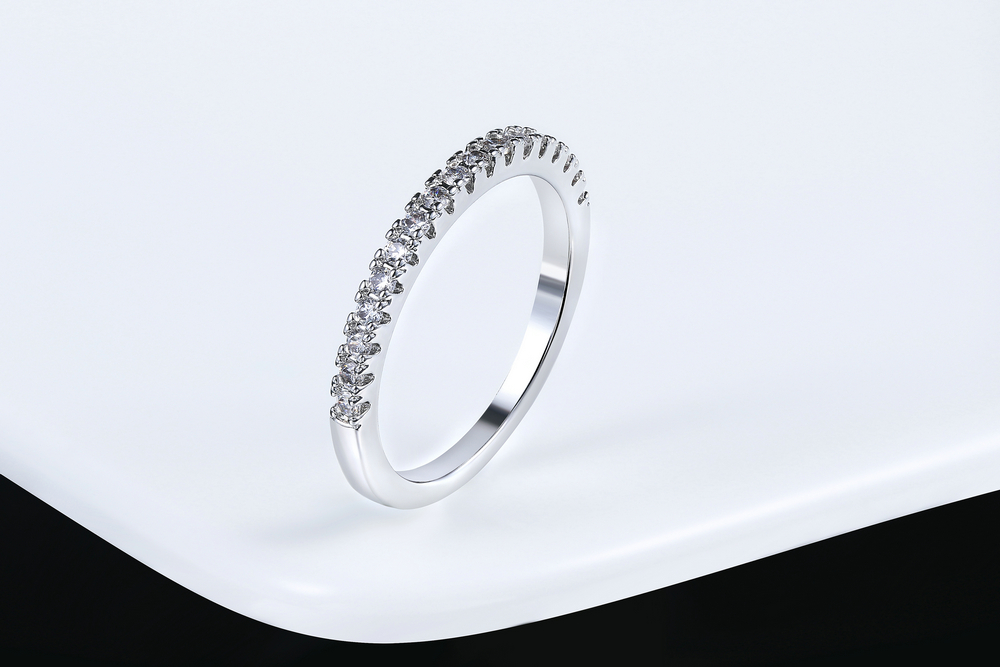 Wedding Ring For Women Man Concise Classical Multicolor Mini Cubic Zirconia Rose Gold Color Fashion Jewelry R132 R133 ZHOUYANG 4