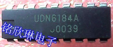10pcslot UDN6184A UDN6184 DIP IC good quality new original free shipping