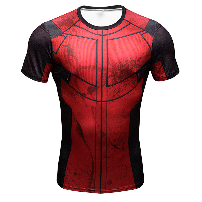 Iron Man Hottoys T Shirt Captain America Civil War Tee 3D Printed T-shirts Men Avengers Fitness Male Crossfit Tops