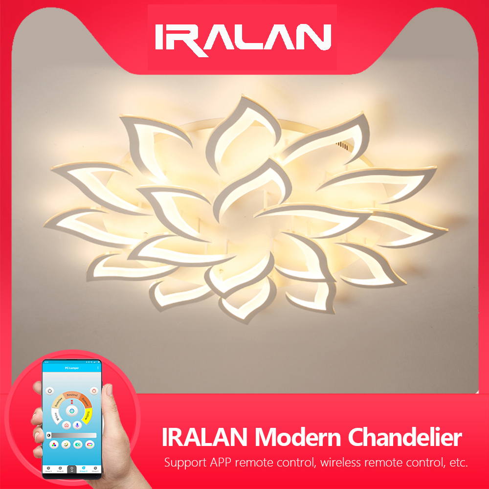 New Led Chandelier For Living Room Bedroom Home Chandelier By Sala Modern Led Ceiling Chandelier Lamp Lighting Chandelier(China)