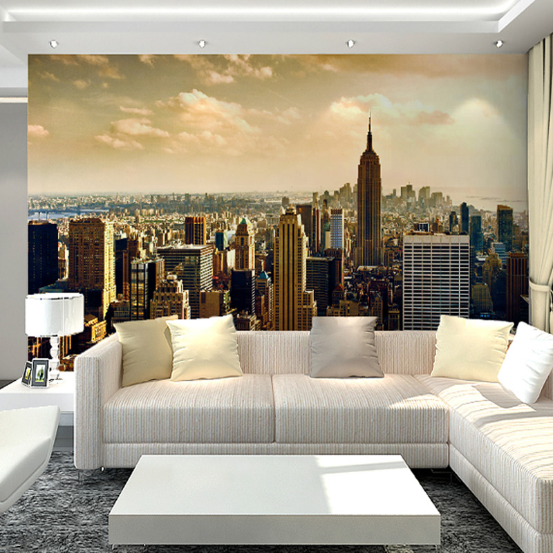 Photo collection wallpaper living room 3d for 3d photo wallpaper for living room