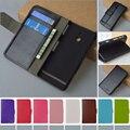 Moda Virar Capa de Couro PU Para Sony Xperia P LT22i Capa J & R Marca Carteira Casos de Telefone Com suporte e Suporte de Cartão 9 cores