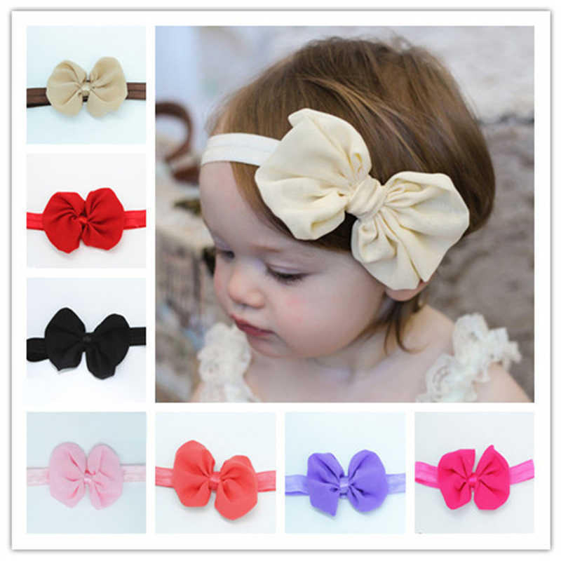Fashion Lovely Girls Lace Flower with Pearl Elastic Hairband Headbands Hair Band Flower Hair Accessoriesfree shipping