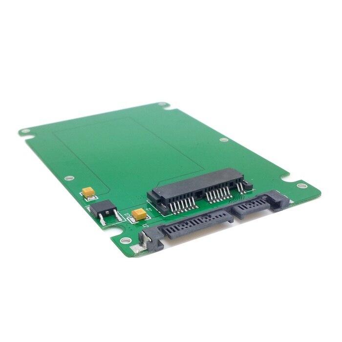 50pcs lots 1 8 Micro SATA 16pin SSD to 2 5 SATA 22pin 7 15 hard
