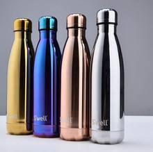 Swell 500 ml thermoskanne thermoskanne Expansion flasche wasserflasche kofferschale sport wasserkocher isolierflasche galvanik flasche