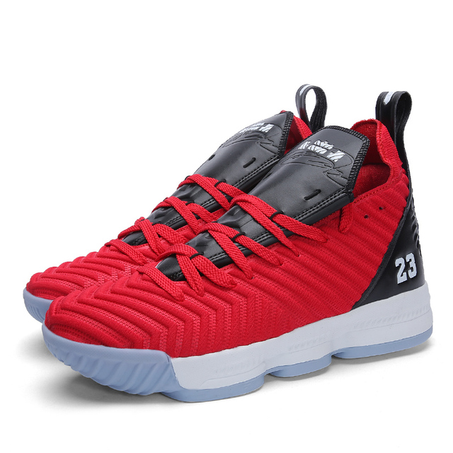 High top Lebron Basketball Shoes Men couple Cushioning Breathable Basketball Sneakers Anti skid Athletic Outdoor Man Sport Shoes