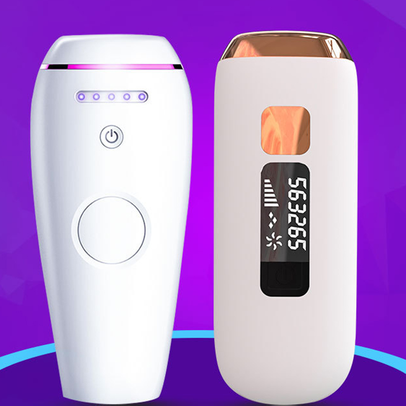 Female Electric Laser Epilator 50w Flash Permanent Hair Removal Painless Rejuvenation 8 Weeks Silky Electric Laser Epilator