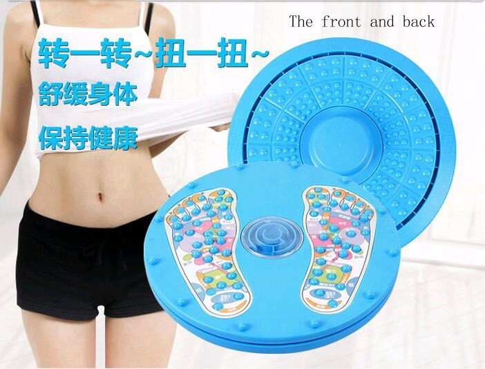Large Foot Massager Figure Body Twister Plate Dual Sides Fitness Equipment Waist Wriggling Waist Twisting Twist Board