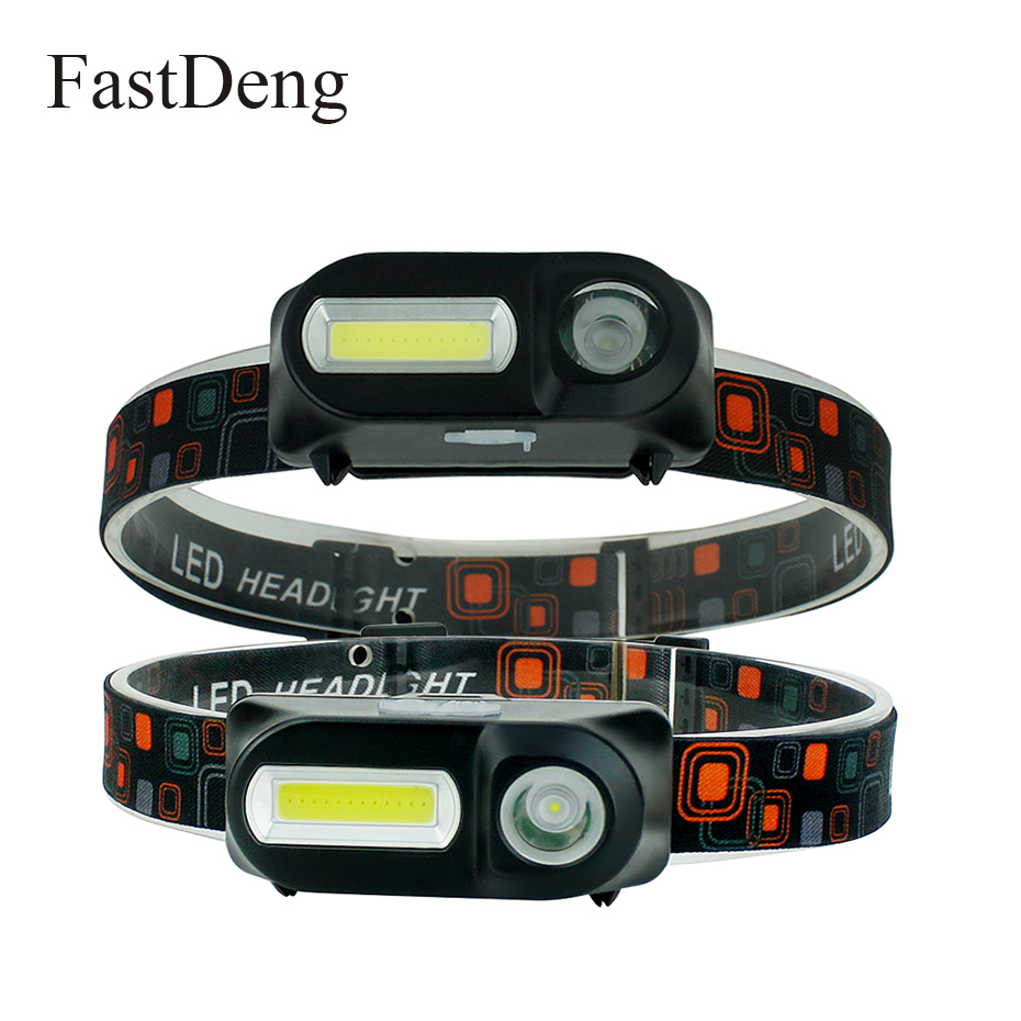 LED COB Headlamp 6 Modes Waterproof Headlight 18650 Battery USB Rechargeable Lightweight Head Lamp For Camping Outdoor Lighting LED COB Headlamp 6 Modes Waterproof Headlight 18650 Battery USB Rechargeable Lightweight Head Lamp For Camping Outdoor Lighting