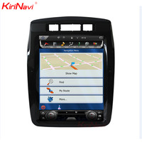 KiriNavi Vertical Screen Tesla Style 10.4 Inch Android 6.0 Car Radio Dvd For Touareg GPS Navigation Multimedia 2010 2017