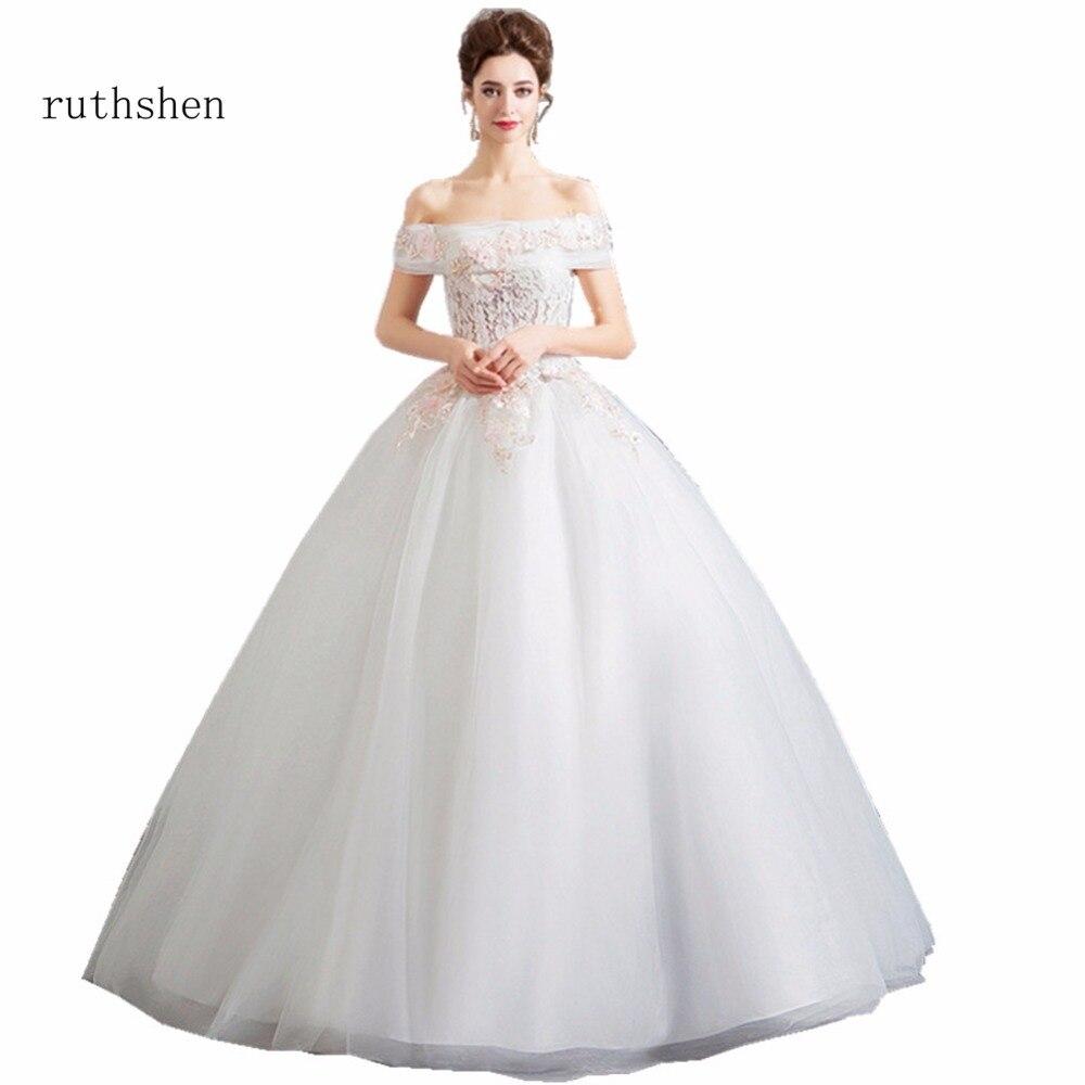 Ruthshen Princess A Line Gown Wedding Dresses 2018 Off