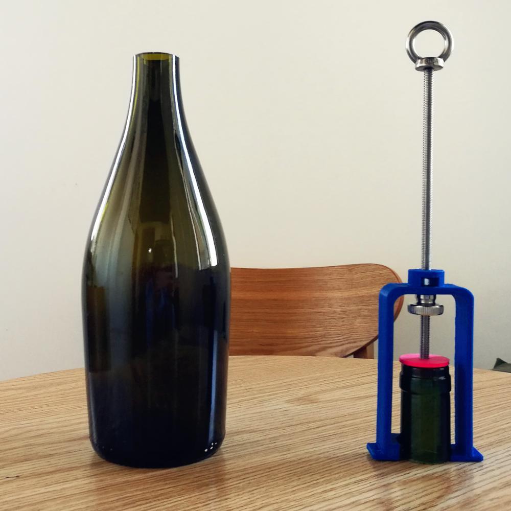 Cortador de Gargalo de Garrafa Corte de Garrafa de Vinho Vaso de Garrafa de Vinho Diy