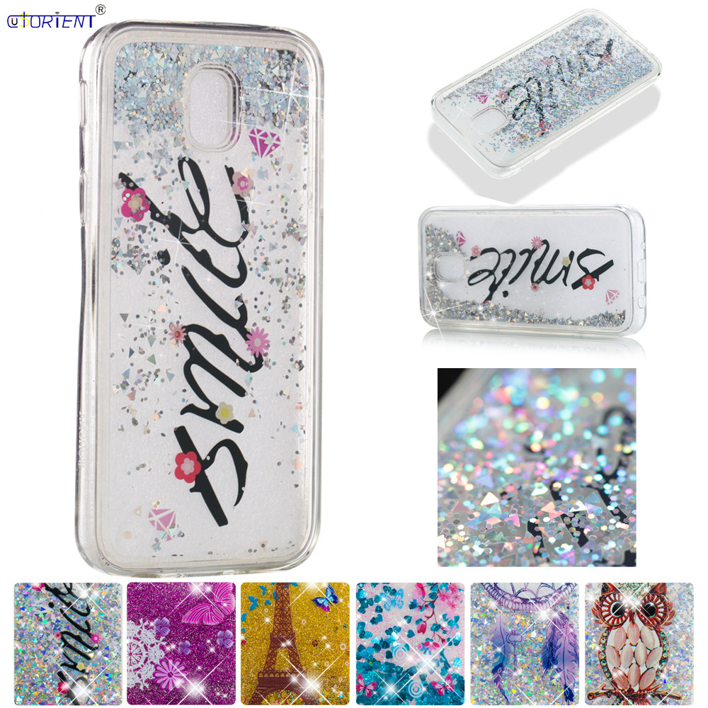 Phone Bags & Cases Useful Glitter Case For Samsung Galaxy J7 Pro J7 2017 Cute Back Cover J730 Sm-j730f/ds Sm-j730fm/ds Bling Liquid Quicksand Soft Cases