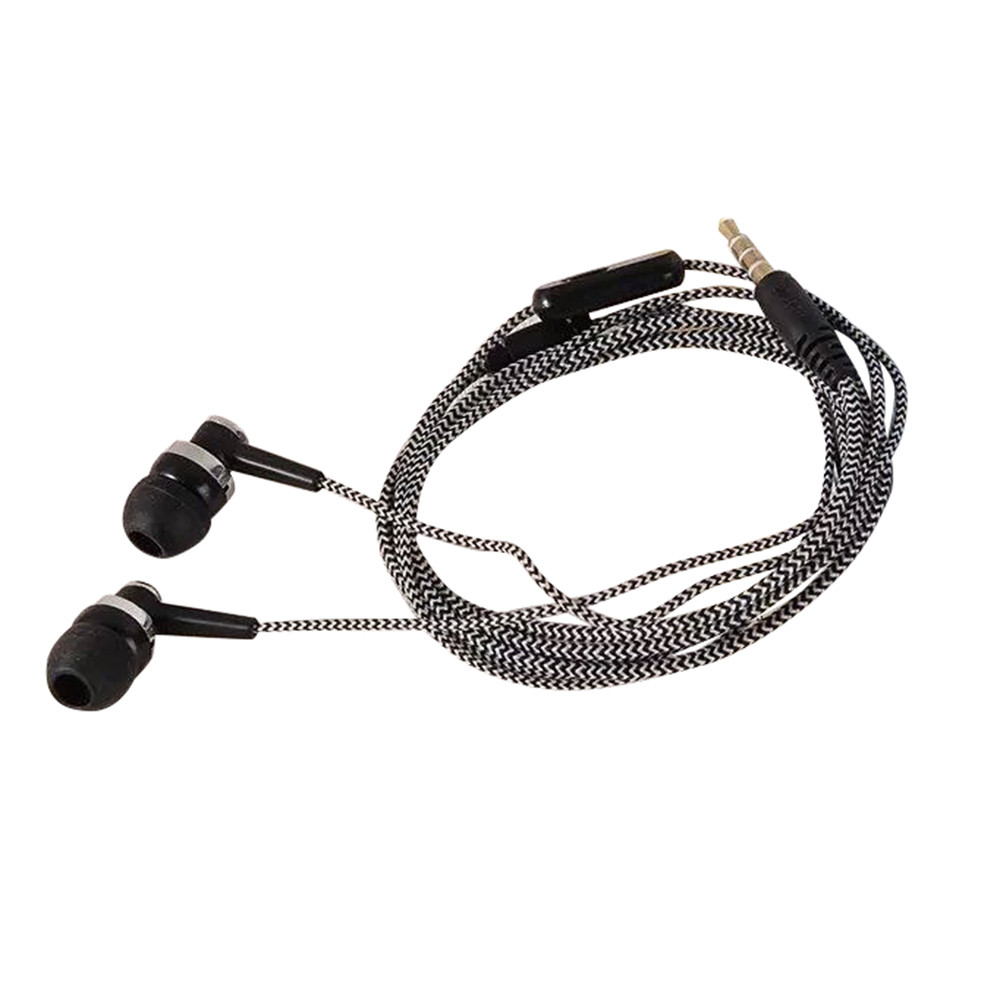 Best Price 3.5mm Earphones headphones Metal headset In-Ear Earbuds For Mobile phones computers MP3 MP4 player