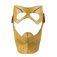 Manles Kid Flash Wally West Cosplay Headwear The Flash Season 3 Cosplay Hat Men Cosplay Costume
