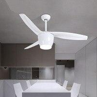 fan lights Nordic modern retro fan lamp sitting room dining room lamp LED fan droplight