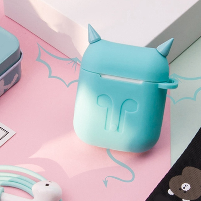 Devil Style Soft Silicone AirPod Case Cover 3