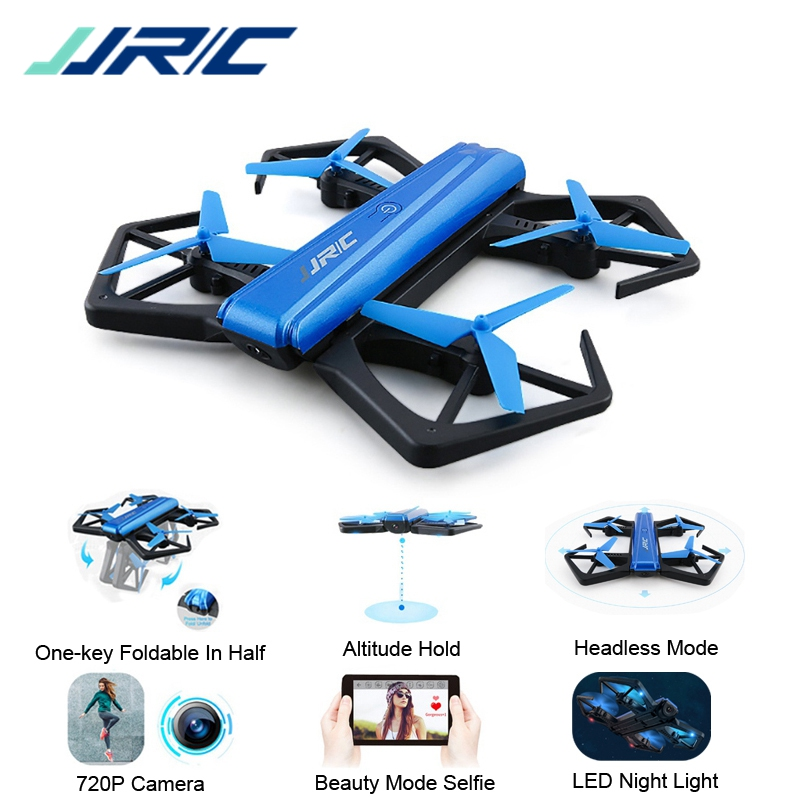JJRC H43WH Mini Drone H43 Selfie Elfie WIFI FPV With HD Camera Altitude Hold Headless Mode Foldable Arm RC Quadcopter Drone UAV jjrc h49 sol ultrathin wifi fpv drone beauty mode 2mp camera auto foldable arm altitude hold rc quadcopter vs e50 e56 e57