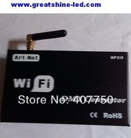 free shipping to north America Wifi dmx controler wifi310 used for dmx console or decoder controlled by Iphone and Ipad