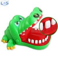 Große Bulldog Krokodil Shark Mund Zahnarzt Biss Finger Beißen Shocking Spielzeug Hobbies Neuheit Gag Spielzeug Gags Praktische Witze