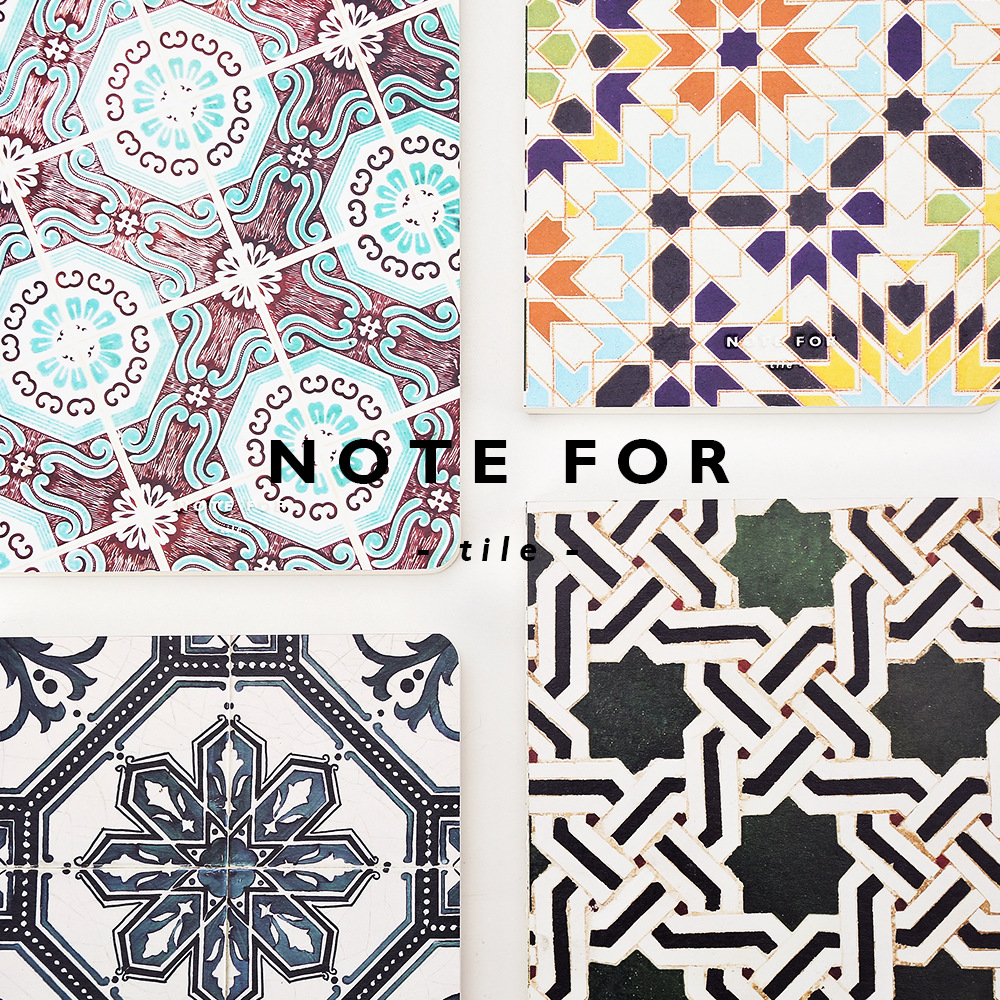 NOTE FOR TILE Creative School and Office Supplies Japanese Style  A5 Notebook 100G Paper Blank Page Sketchbook Gifts 140 page note paper creative fruit design